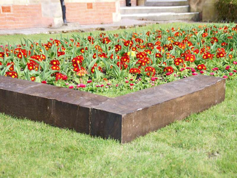 Traviesas de madera o ecol gicas para decoraci n de jardines for Decoracion de madera para jardin